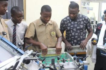 Screenprinting Workshops at Alpha Institute – HELP Jamaica! e V