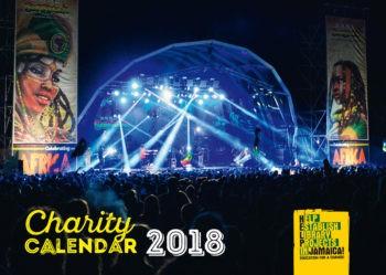 charity calendar 2018