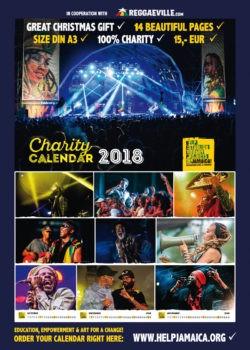 help jamaica charity calendar 2018