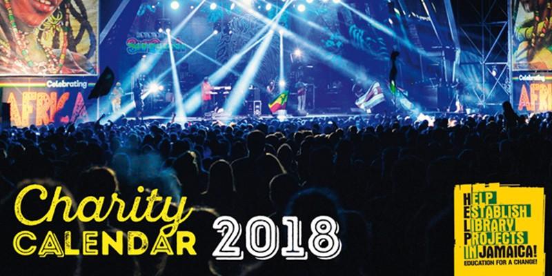 charity calendar 2018 help jamaica ev